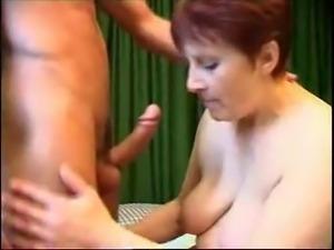 Moden Kvinde & Ung Fyr - Mature Woman & Young Boy 4