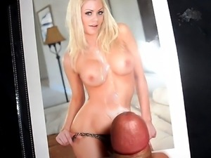 Cumming on Riley Steele.