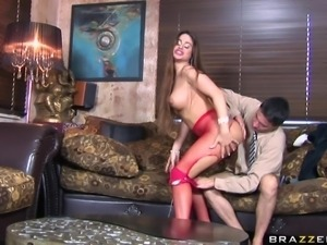 slutty cathy heaven loves a hard dick in her ass