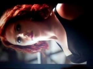 Scarlett Johansson Cum Tributes