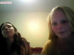Amateur Lesbians Going Wild on Webcam free