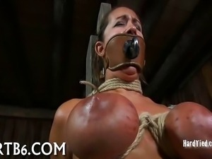 Hot Babe Bent and Fucked