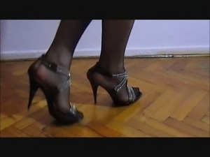 Turkish CrossDresser Buse Naz Arican - My Legs in Black