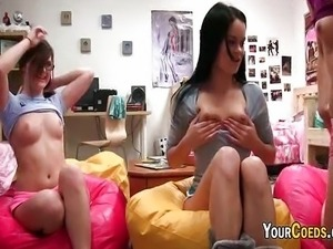 Perky Tits On A College Sex Audition Tape
