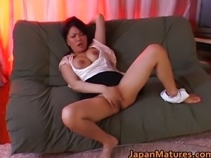 Miki Sato pretty real asian mature model
