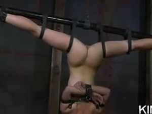 Bound Bitch Jerks Meat