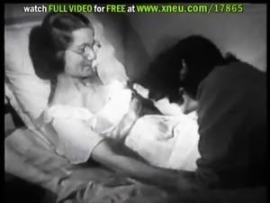 Horny Lesbian Babe Gets A Vintage Sybian From Santa - Retro Porn Scene free