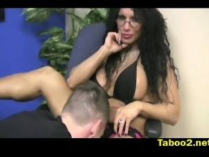 Wunder Woman jerking her patient