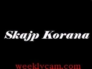 Korana Exposese herself On Webcam -WeeklyCam.com free