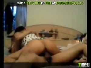 Latina Rides Her BF For Creampie free