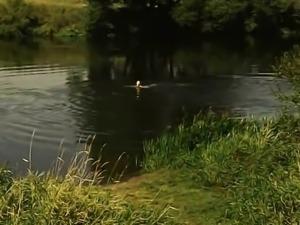 Rus Glazkova Nude Swim