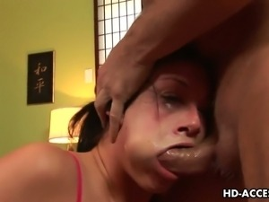 Tory lane face fucked and jizzed