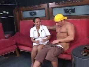 Young asian nurses
