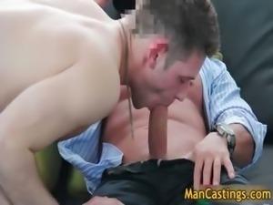 Pretty face dude Duncan blows fat gay part6