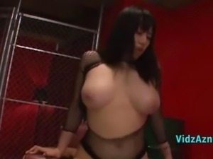 Busty Asian Girl In Sexy Lingerie Fucked Cum To Pussy On The Couch
