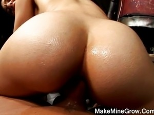 Sasha Grey's hot POV butt fucking