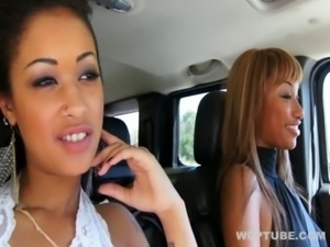 Hitchhikers 2 - Skin Diamond and Bella Moretti free