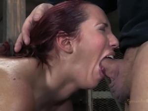 voluptuous slut roughly fucked