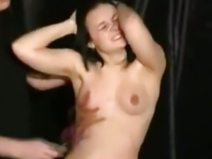 Teen Slavebabe S Breast Whipping And Strict Bdsm Domination bdsm bondage...