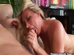 Curvy MILF Devon Lee takes a penis pounding