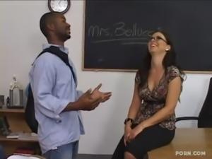 Black student fucked his hot teacher free