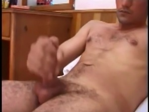 horny turkish man cumshot