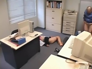 Molested sleeping Office Lady free