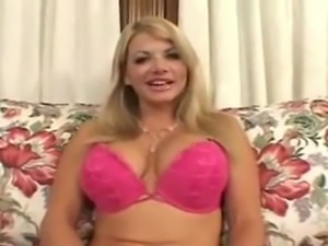 hot busty MILF Vicky Vette SHOWS OFF HER JUGGIES then gets fucked