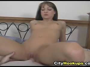Amateur Hot Sexy Babe Loves On Top