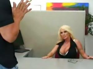 Busty Office MILF Holly Halston