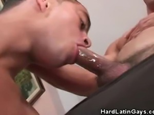 We have these horny even muscled Latinos in this clip as they kick it of by...