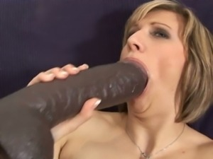 Vanessa's brutal dildo play