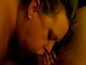 Sexy BBW Sucking My Cock Again