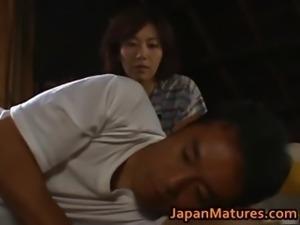 Chisato Shouda Lovely mature Asian chick