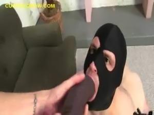 Making Cuckold Sucks Dildo free
