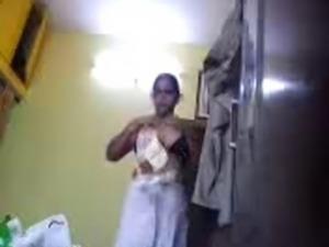 desi mom kavitha saree stripping hidden cam full nude