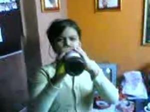 Indian Teen Flashing on Homemade Video