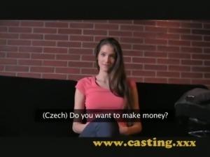 Casting - Fashion model resorts to porn free