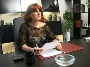 Mature redhead ass fucked at work (xSid) free