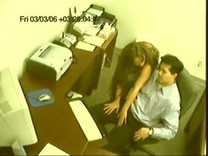 Surprise Office Sex Caught On Camera