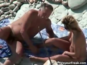 Nasty hot brunette MILF slut get part1