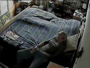 Mom Caught Masturbating on Hidden Cam
