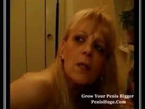 Mature Blonde French Slapper free