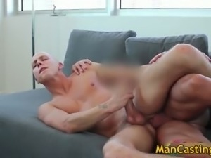 Bald guy Mathew gives hot blowjob part6