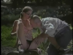 Nerdy Cutie Fucked On The Farm