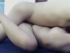 Sex in all positions with girlfriend and creampie
