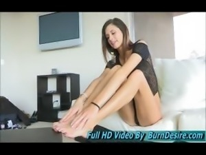 Jody Anal Fingering Beautiful And Very Leggy Teen