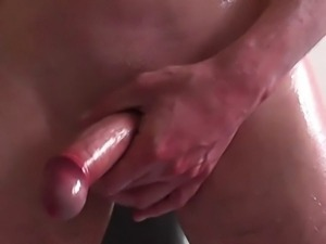 Cock closeup twitching and cuming compilation