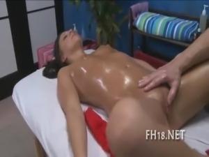 Teenie is riding up penis free