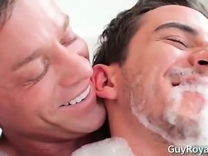 Erotic Bath and rubbing  Devin Dixon part5